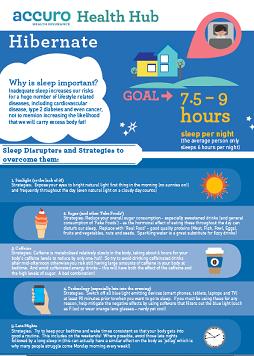 Sleep flyer image